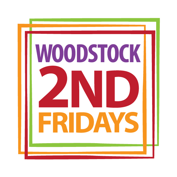 2nd Fridays Art Walk in Woodstock Illinois on the Square